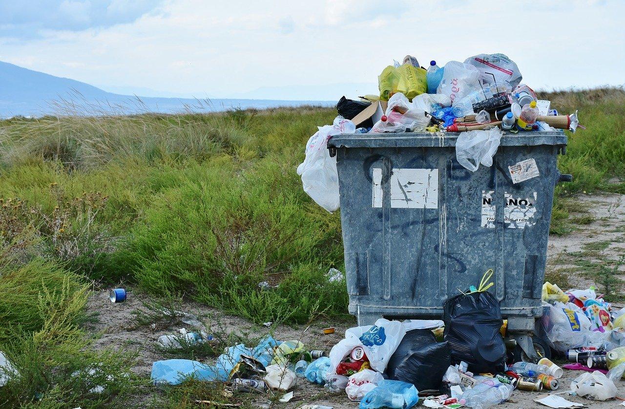 Usuwanie dużych śmieci z domu